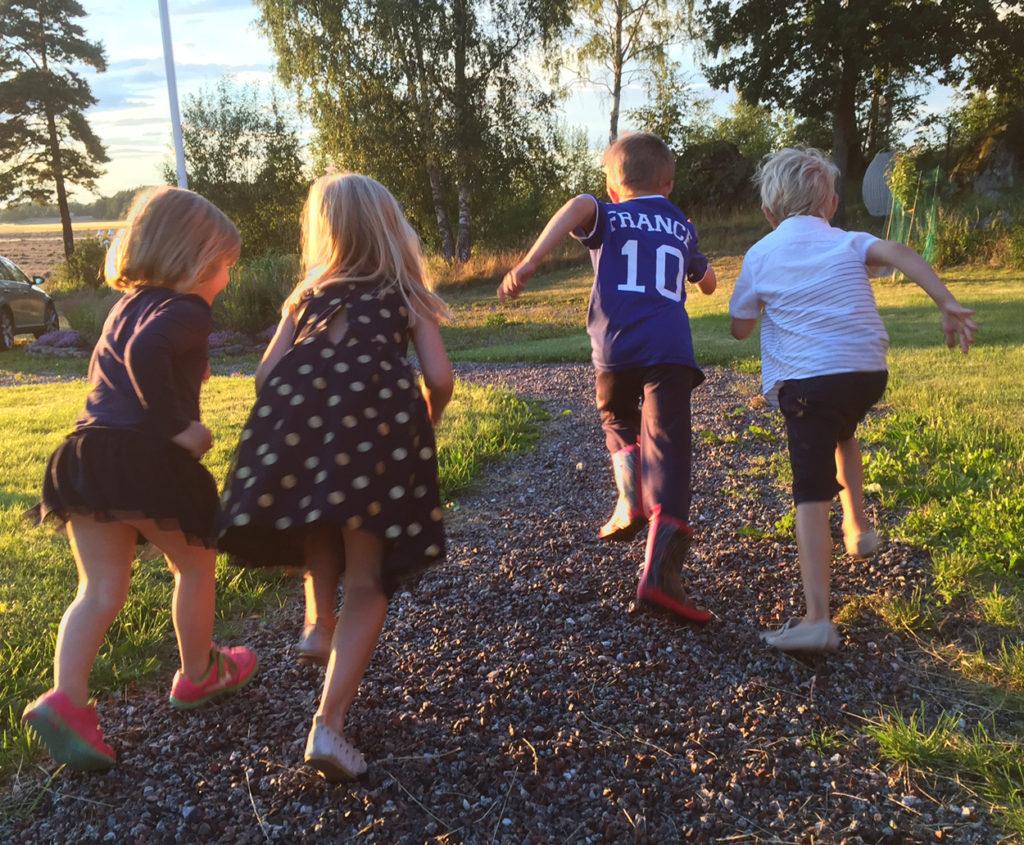 Spring intervaller med barn - det är roligare att träna tillsammans!