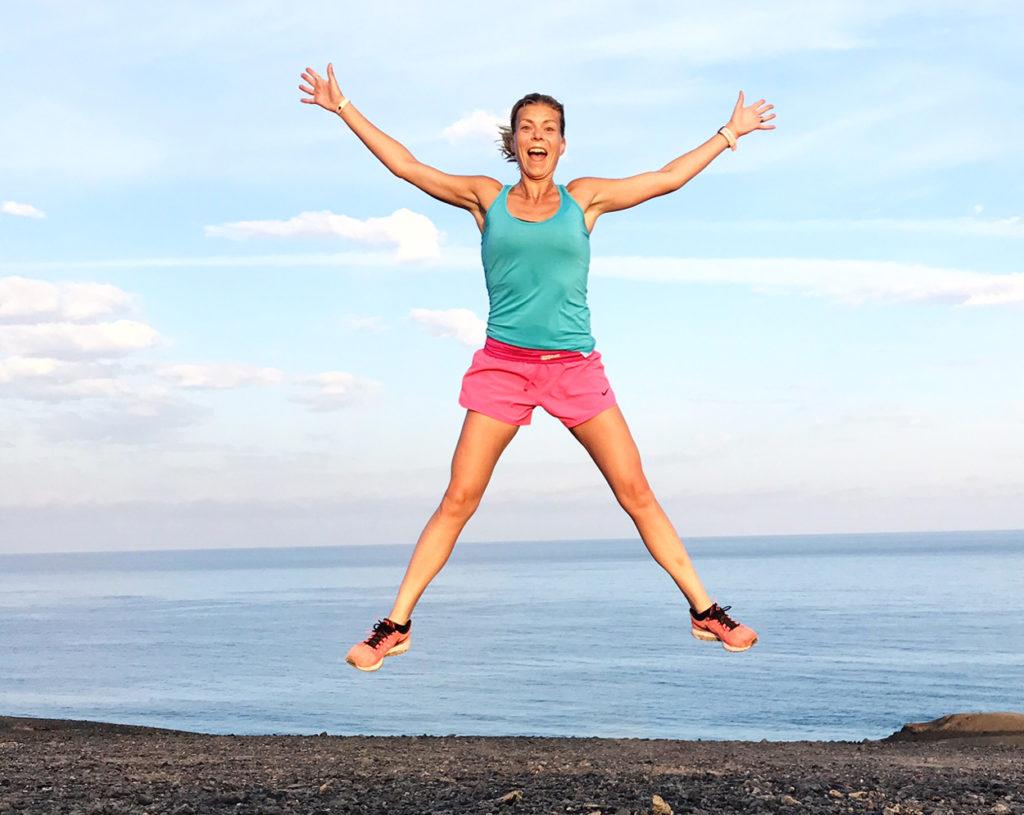 Terese Alvén - en av sveriges bästa hälsobloggare. Då bjuder jag på ett glädjeskutt!