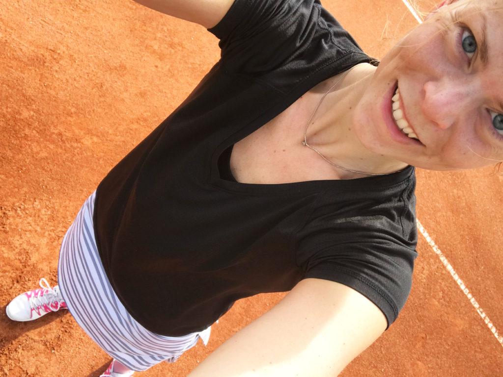 Tennissäsongen utomhus är igång!