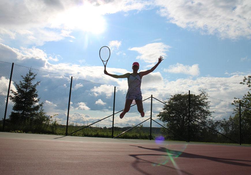 tennis Hacksta Hill
