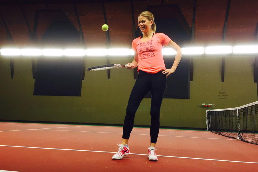 casall tennis - tights med fickor