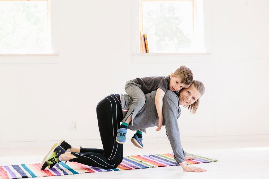 Träna tillsammans med Tia