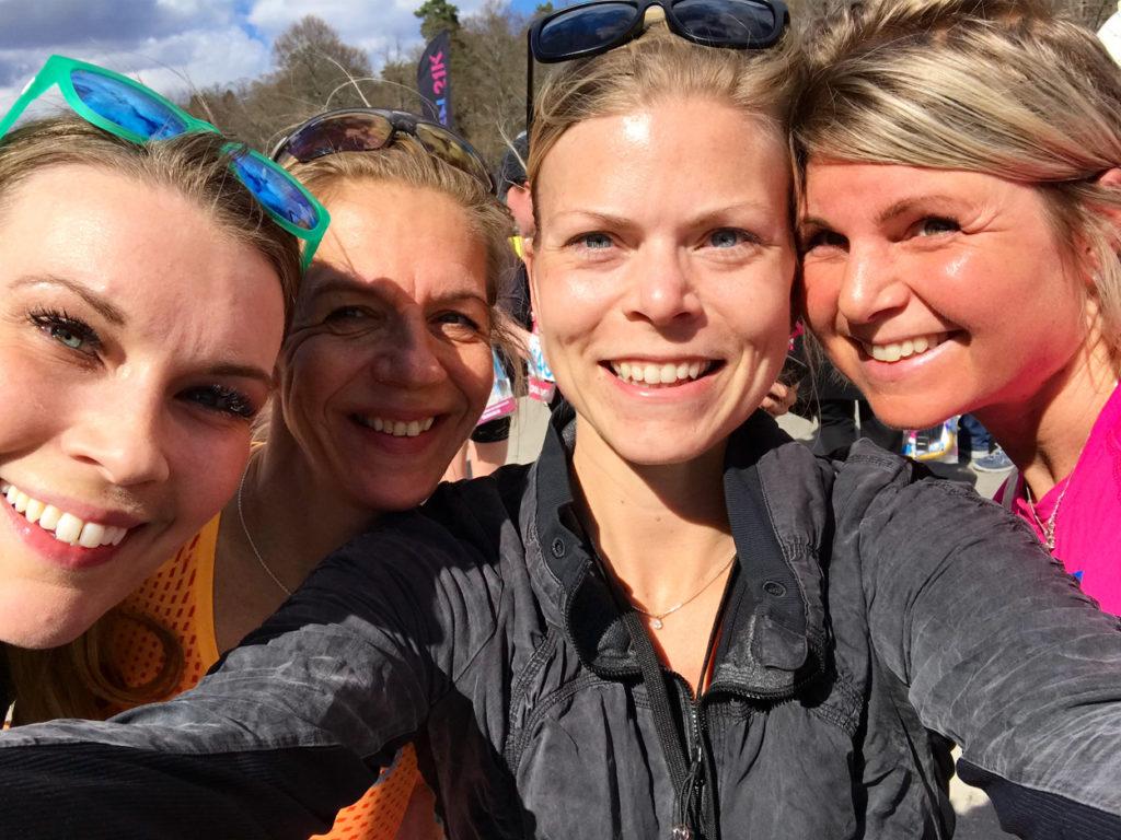 Gruppkram med Petra, Nina och Anna!