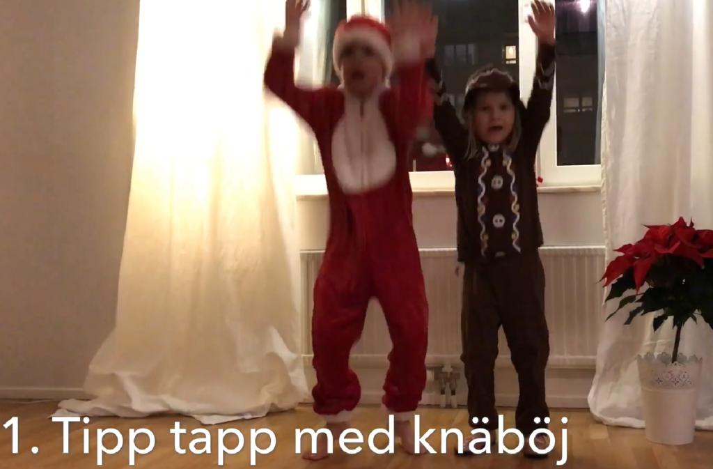 Julträning - träna tillsammans i juletider. Tipp tapp!