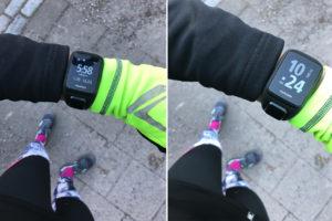 Löpning med TomTom Runner 3 Cardio.