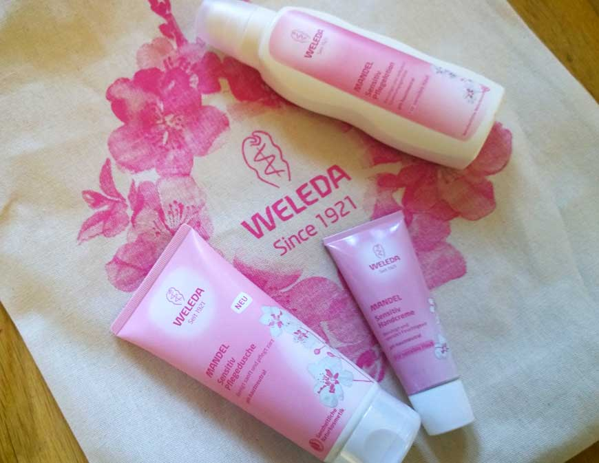 weleda almond sensitive skin